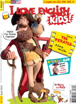 couverture I Love English for Kids n 129 - avril 2012