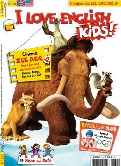 couverture I Love English for Kids n 130 - mai-juin 2012