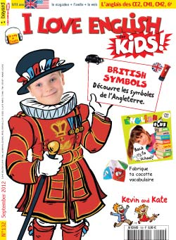 couverture I Love English for Kids n 132 - septembre 2012