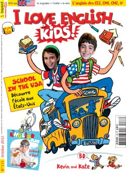 couverture I Love English for Kids n 133 - octobre 2012