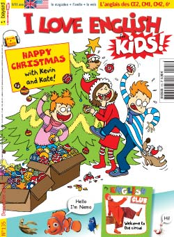 couverture I Love English for Kids n 135 - décembre 2012