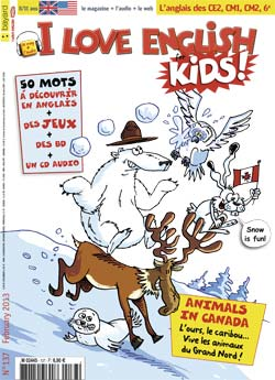 couverture I Love English for Kids n 137 - février 2013