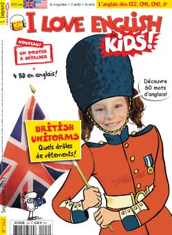 couverture I Love English for Kids n 142 - septembre 2013