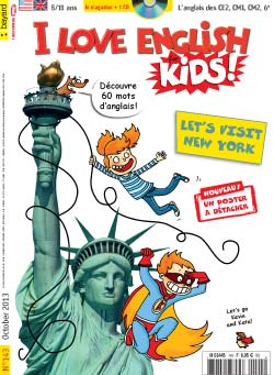 couverture I Love English for Kids n 143 - octobre 2013