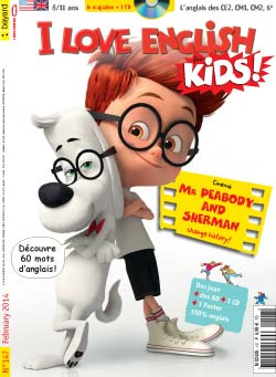 couverture I Love English for Kids n 147 - février 2014