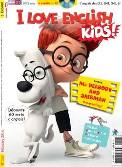 couverture I Love English for Kids n 147 - février 2014