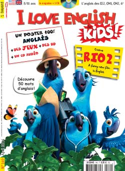 couverture I Love English for Kids n 149 - avril 2014