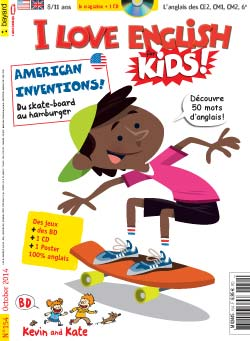 couverture I Love English for Kids n 154 - octobre 2014