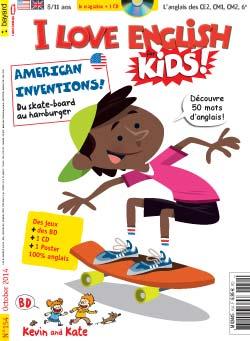 couverture I Love English for Kids n 154 - octobre 2014