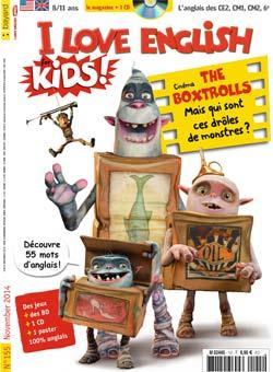 couverture I Love English for Kids n 155 - novembre 2014
