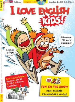 couverture I Love English for Kids n 158 - février 2015