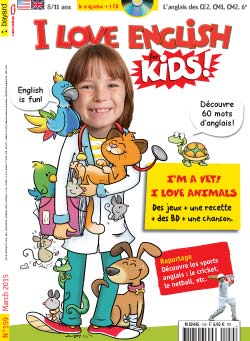 couverture I Love English for Kids n 159 - mars 2015