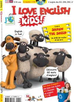 couverture I Love English for Kids n 160 - avril 2015