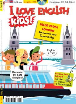 couverture I Love English for Kids n 161 - mai 2015