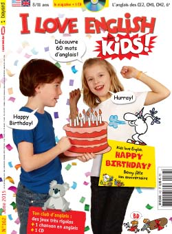 couverture I Love English for Kids n 162 - juin 2015