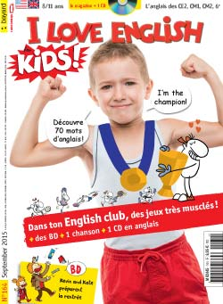 couverture I Love English for Kids n 164 - septembre 2015