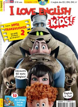 couverture I Love English for Kids n 165 - octobre 2015