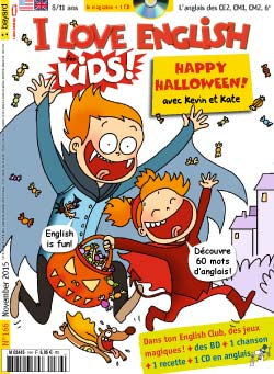 couverture I Love English for Kids n 166 - novembre 2015