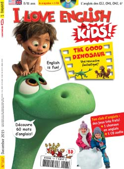 couverture I Love English for Kids n 167 - décembre 2015