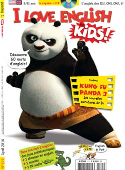 couverture I Love English for Kids n 171 - avril 2016