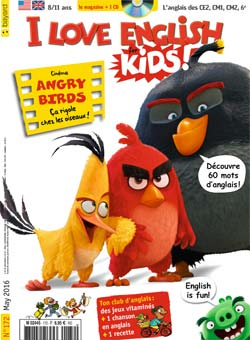 couverture I Love English for Kids n 172 - mai 2016