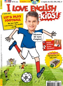 couverture I Love English for Kids n 173 - juin 2016