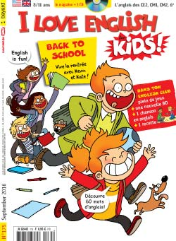couverture I Love English for Kids n 175 - septembre 2016