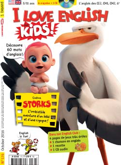 couverture I Love English for Kids n 176 - octobre 2016