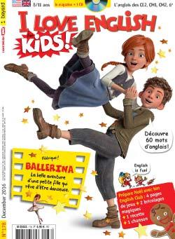 couverture I Love English for Kids n 178 - décembre 2016
