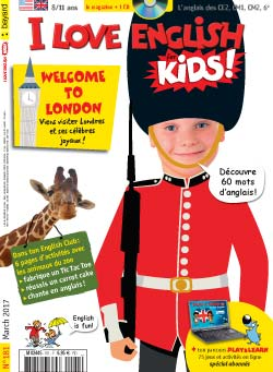 couverture I Love English for Kids n 181 - mars 2017