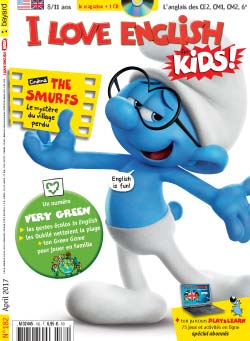 couverture I Love English for Kids n 182 - avril 2017