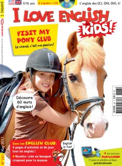 couverture I Love English for Kids n 183 - mai 2017