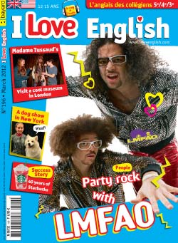 couverture I Love English n196 - mars 2012