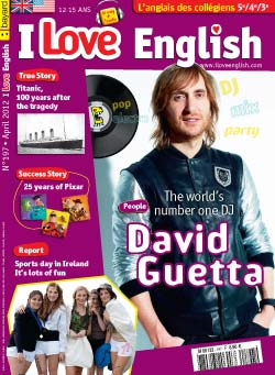 couverture I Love English n197 - avril 2012