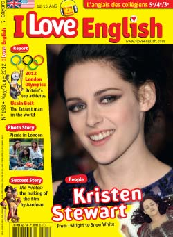 couverture I Love English n198 - mai-juin 2012