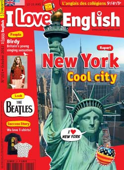 couverture I Love English n201 - octobre 2012