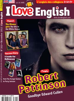 couverture I Love English n202 - novembre 2012