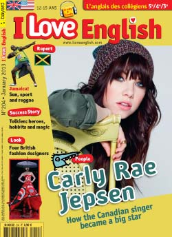 couverture I Love English n204 - janvier 2013