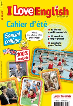 couverture I Love English n209 - juillet-août 2013