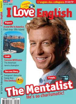couverture I Love English n226 - février 2015