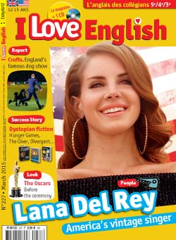 couverture I Love English n227 - mars 2015