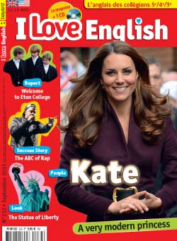 couverture I Love English n232 - septembre 2015