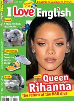 couverture I Love English n240 - mai 2016