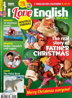 couverture I Love English n246 - décembre 2016