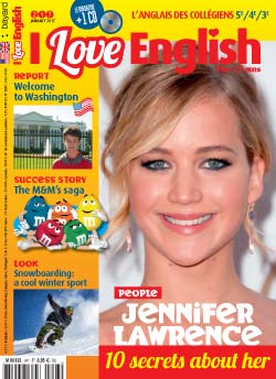 couverture I Love English n247 - janvier 2017