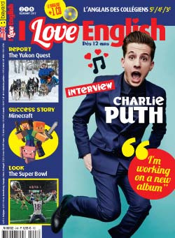 couverture I Love English n248 - février 2017