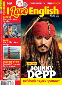 couverture I Love English n251 - mai 2017