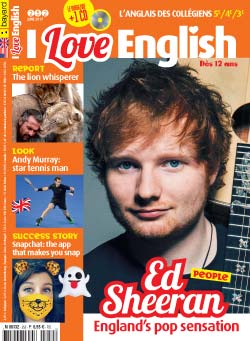 couverture I Love English n252 - juin 2017