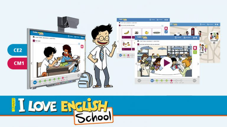 Pour les enseignants : la méthode I Love English School