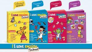 Pour les enseignants : I Love English School - 4 malettes